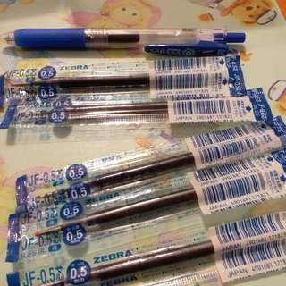 【全新】SARASA 0.5 筆芯5枝連筆