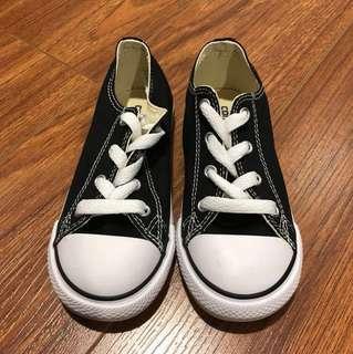 Black Kids Authentic Converse Shoe