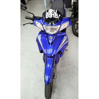 YAMAHA 125ZR  (2nd Hand moto macam showroom)