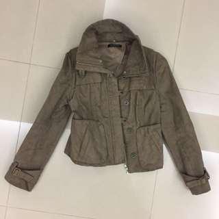🚚 駝色麂皮外套