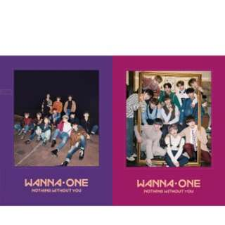 (Select version) Wanna one -To Be One Prequel Repackage Album / 1-1 0 (Nothing without you)
