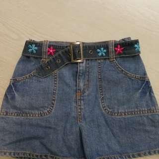 OshKosh Denim mini skirt/ skort