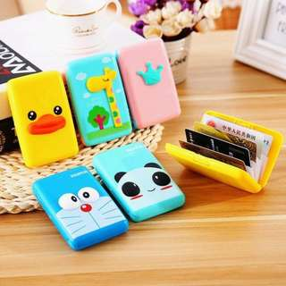 3D Card Holder / Tempat Kartu Minion, Doraemon, Bebek, Mahkota/Crown, Panda, Jerapah [CH01]