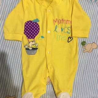 Sleepsuit baby for 0-6bulan