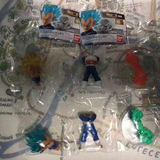 龍珠 UG06 藍頭髮及黃頭髮各一連蛋紙