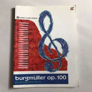 Burgmüller 25 progressive pieces op. 100