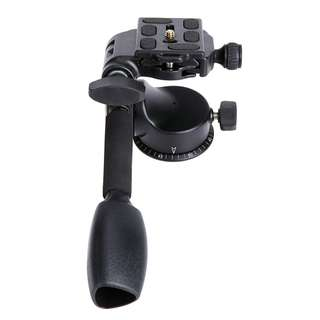 Beike Q-08 Pan and Tilt Head (3 Way Tripod PanHead) + Quick Release Plate