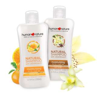 HUMAN❤NATURE Natural Moisturizing Shampoo