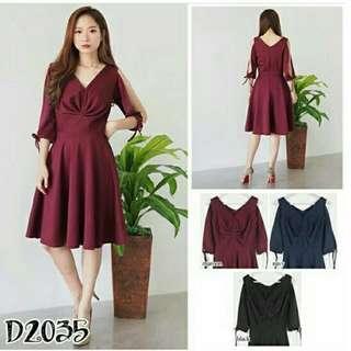Dress Red D2035