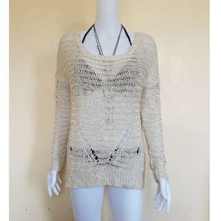 Knitted cover up fits large to XL