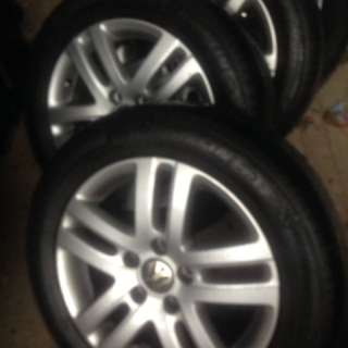 "VW Jetta 16"" stock rims w Primacy tires"
