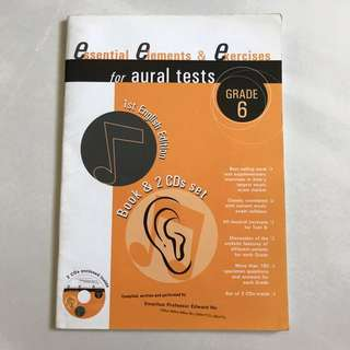Essential elements & exercises for aural tests grade 6