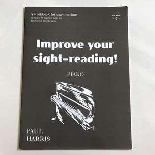 Improve your sight-reading! Piano grade 7