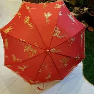 Wedding phoenix umbrella