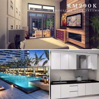 New condo only rm290k