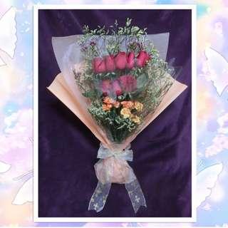 情人節花束 Flower Bouquet for Valentine's Day