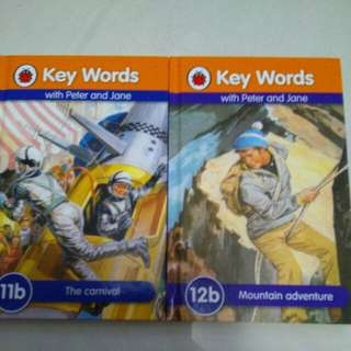 Ladybird Keywords with Peter and Jane 2 books
