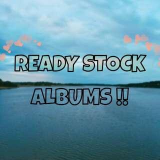 READY STOCK ALBUMS