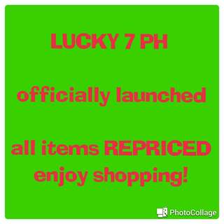 NEW shop name LUCKY7PH cheaper price!