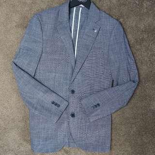 brooksfield charcoal blazer