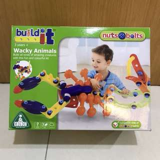 ELC Nuts Bolts Wacky Animals Early Learning Company set playset construction