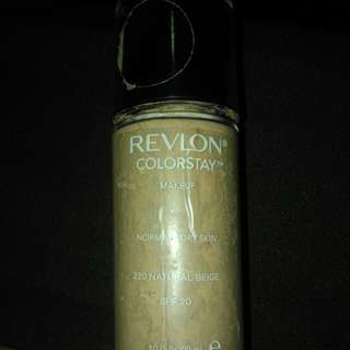 Revlon colors stay foundation