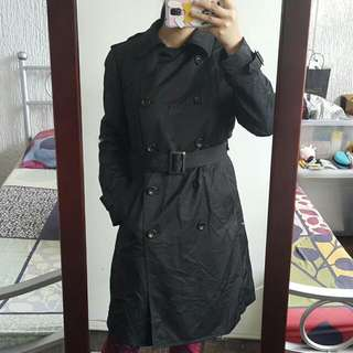 Black Winter Coat (Uniqlo)
