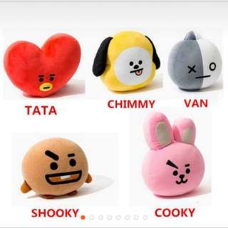 [INSTOCK] BT21 Inspired Plushies