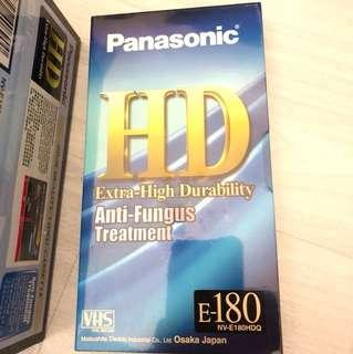 Panasonic VHS Video cassette 7盒