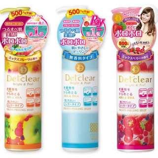 Detclear Bright & Peel Fruits Peeling Jelly