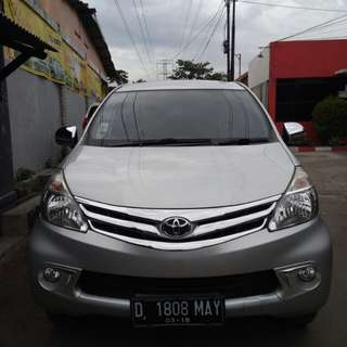New avanza g matic 2013 silver