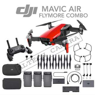 Brand New DJI Mavic Air Flymore Combo READY STOCK @ ALTECH CAMERA