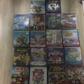Children Chinese DVD (in bundle $20 for 18pcs)