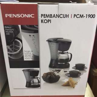 Pensonic 1.2L coffee maker