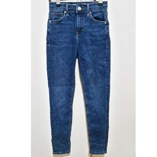 Topshop embroidered jeans - size 6