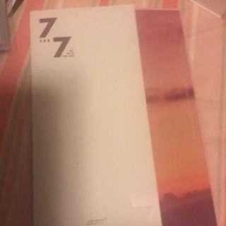 GOT7 7 for 7 sealed album jinyoung ver.