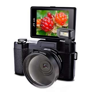 Marvue Digital Camera With Flip Up Screen