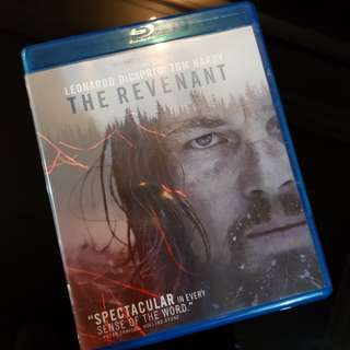 The Revenant Blu ray only