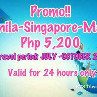 Promo cheap airfare