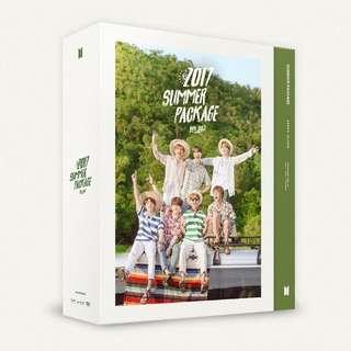 Kpop BTS 2017 summer Package