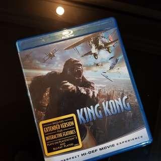 King Kong blu ray disc