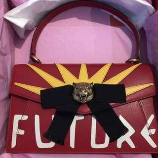NEW Gucci Osiride bag with graffiti Spring 17 runway bag