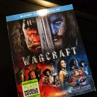 Warcraft blu ray only