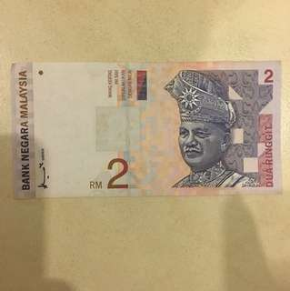 RM 2.00 Notes