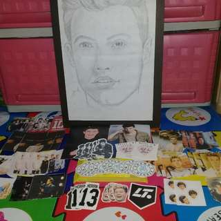 Stickers/Polaroid/Drawing ONE DIRECTION SHAWN MENDES
