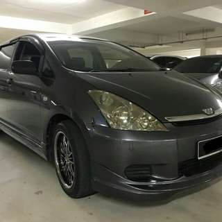 TOYOTA WISH 1.8(A) 2007 READY JB