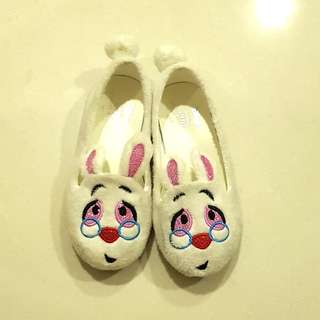 Charles and keith - alice in wonderland - rabbit loafer