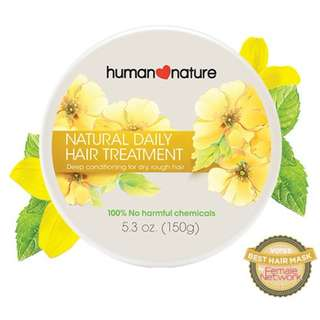 Daily Hair Treatment 150g by HUMAN❤NATURE