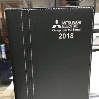 Mitsubishi 2018 diary