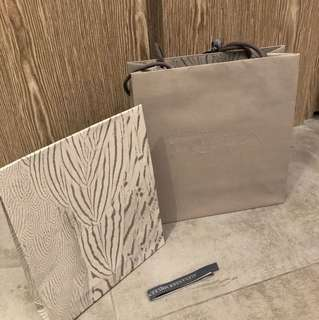 Alexander McQueen Gift Package + Paper Bag 禮物紙袋